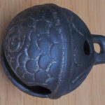 Fishscale Crotal bell 15th- 17th C